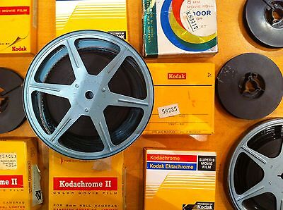 12 X5 Inch 200Ft 8Mm Super 8 Film To Dvd Ship Back4Free