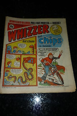 WHIZZER & CHIPS Comic - Date 01/03/1980 - Inc free Poster