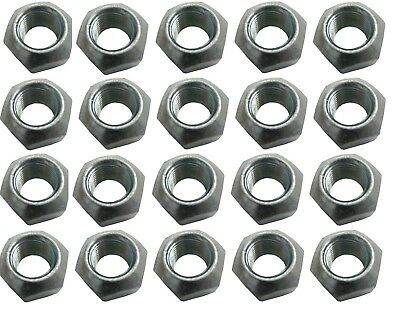 "Steel Lug Nuts 5/8"" Fine 20pk 1"" Socket Wheel IMCA UMP Single Sided USMTS USRA"