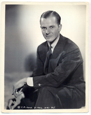ALAN BAXTER original movie photo 1940s