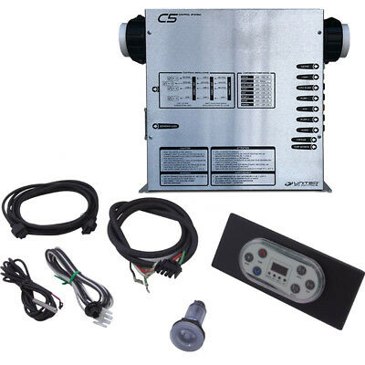 United Spas - C5T Spa Control System W/ Topside Panel & Top Heater - CTT7
