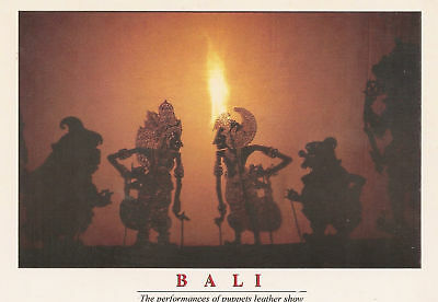 Leather Puppet Show    Bali  Indonesia