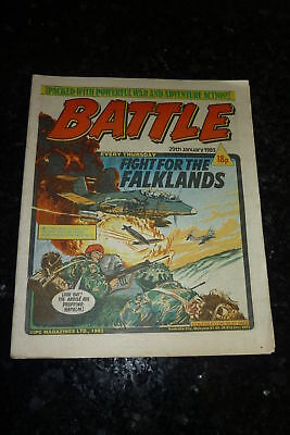 BATTLE Comic - Date 29/01/1983 - UK Paper Comic