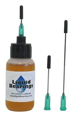 Liquid Bearings w/XL needle 100%-synthetic oil for Vestax Guber & all turntables