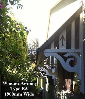 Window Awnings - Quality Timber - Complete Kits!