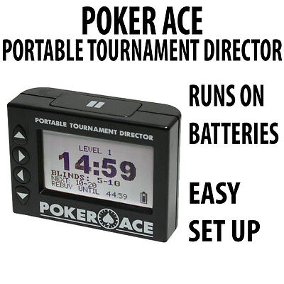Poker Ace PTD Portable Tournament Director Timer