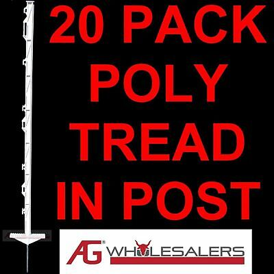 Strip Graze Poly Tread In Posts X 20 Electric Fence