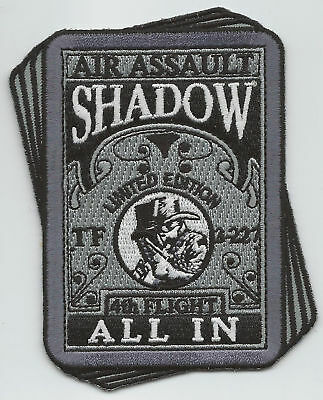 "TF  3/227th 4th FLIGHT ""ALL IN"" #2 patch"