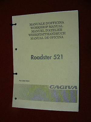 Cagiva Roadster 521 Manuale Officina Originale