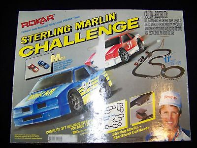 Rokar Sterling Marlin Challenge 1987 TYCO race car track set