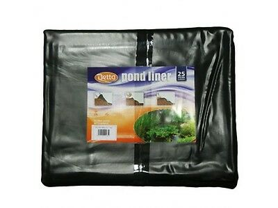 Pre Cut Pre Pack Garden Pond Liner PVC 0.5mm 4M x 4M