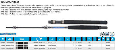Shakespeare Tidewater Boat Rod 7' 15-20-30 Class Carbon