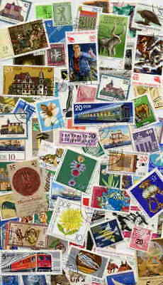 Fantastic Collection Of 500 Stamps From East Germany!