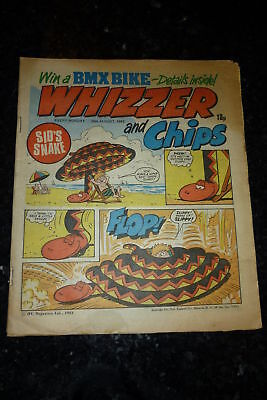 WHIZZER & CHIPS Comic - Date 20/08/1983 - UK Paper Comic