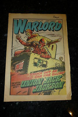 WARLORD Comic - Issue 266 - Date 27/10/1979 - UK Paper Comic