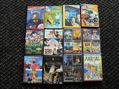 120 DVD FAMILY  MOVIES  WHOLESALE LOT NEW DVDS