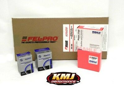 SBC Chevy 350 Complete Re-Ring Rering Overhaul Kit w/ Bearings Gaskets & Seals