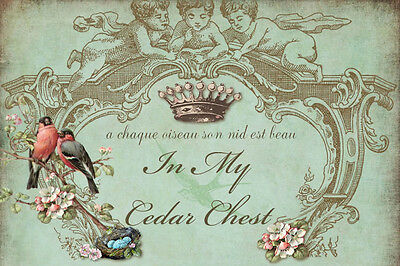 Victorian French Crowns Birds Vtg Ebay Auction Template