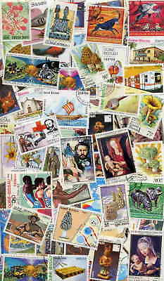 Guinea Bissau Stamp Collection - 200 Diff - $65 Value!