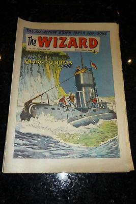 THE WIZARD Comic (1963) - No 1956 - Date 10/08/1963 - UK Paper Comic