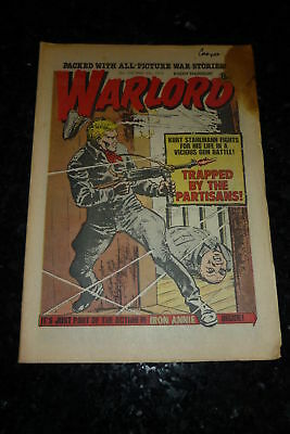WARLORD Comic - Issue 189 - Date 06/05/1978 - UK Paper Comic