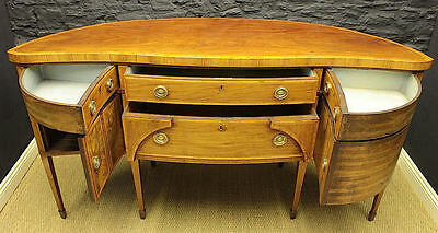 Antique Regency Serpentine Sideboard (GIL:0346)