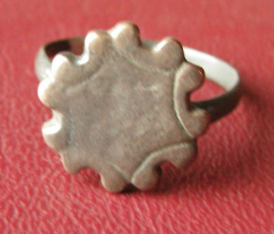 Ancient Artifact > Metal Detector Find FINGER RING 10 1/2 US 20.25mm  7007 DR