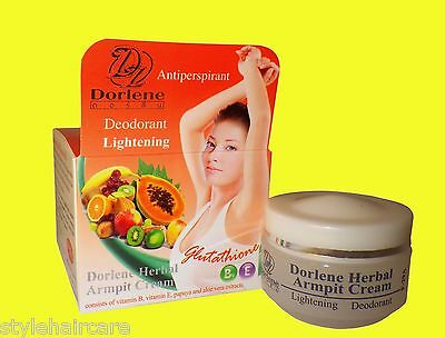 GLUTATHIONE Armpit Underarm WHITENING Lightening Cream