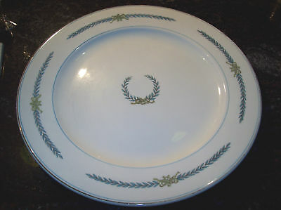 1930 MYOTT STAFFORDSHIRE LAUREL WREATH X LARGE PLATTER