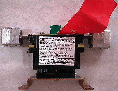 New Square D 9065JA2 180 Amp Overload Relay 1 Pole Same Day Shipping