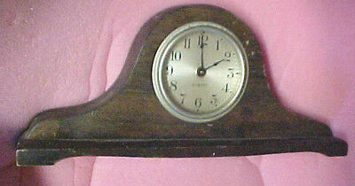BS8 Vintage Gilbert Mahogany Wall shelf mantle clock wind