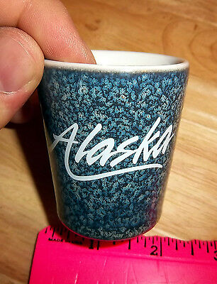 Alaska Ceramic Collector Shotglass
