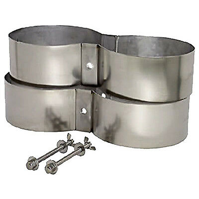 DIVE Cylinder TWIN SET, Extra Wide STAINLESS STEEL BANDS, Bolts, Nuts -ALL SIZES