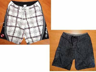 LOT of 2 QUIKSILVER BOARD SHORTS sz. 30 & 31