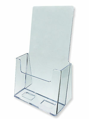 "Acrylic Literature Brochure Holder for 4x9"" - 25-pack"