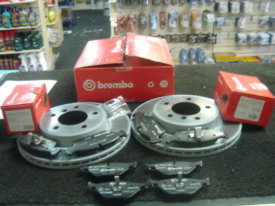 BMW 320D BREMBO BRAKE DISC FRONT REAR PADS  FILTERS