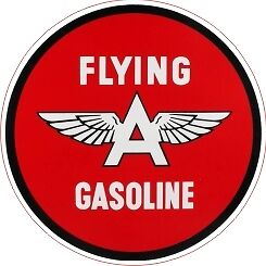 Vintage Flying A Gasoline Gas Oil Decal - The Best!!