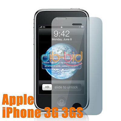 3 LCD Screen Guard Protector for Apple iPhone 3G 3Gs