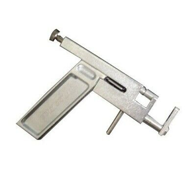 Silver Steel Ear Body Piercing Gun In Case - UK Seller!
