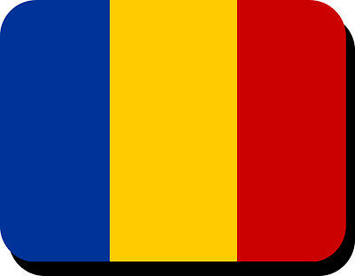 Romanian Flag Mousemat  Free Personalisation