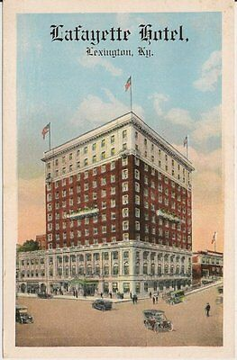 Lafayette Hotel Lexington KY Postcard