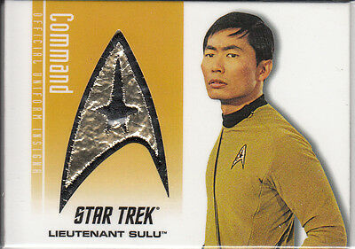 Star Trek TOS 40th Ann. Patch Sulu DS5 121/350