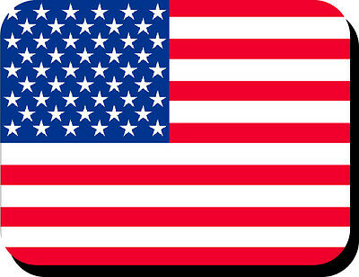 United States Of America Flag Mousemat  Free Personalisation Usa