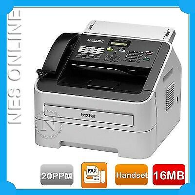 Brother FAX-2820 Laser Plain Paper Fax handset Phone FREE UPGRADE TO FAX-2840