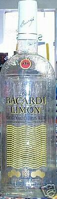 Bacardi Limon 36 inch Inflatable Rum Bottle Sign New