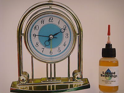 Liquid Bearings, THE VERY BEST 100%-synthetic oil for any clocks, PLEASE READ !!
