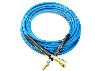 Carpet Cleaning - 50' High Pressure Hose  W/QD 1/4""