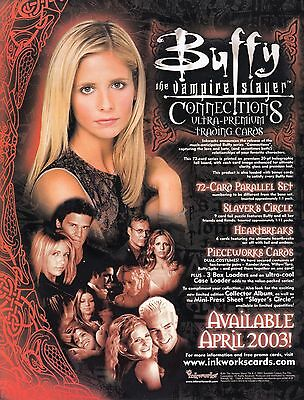 BUFFY ULTIMATE COLLECTION PROMOTIONAL SELL SHEET