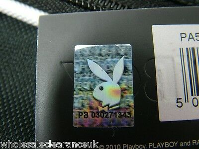 Wholesale Joblot of 10 Funky Retro Playboy Gift CollectionPurse black/silver
