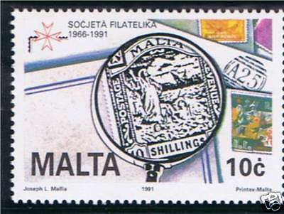 Malta 1991 Philatelic Society of Malta SG887 MNH